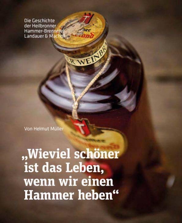 Buch von Helmut Müller über die Heilbronner Hammer-Brennerei